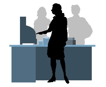 Free graphics images and. Cashier clipart person