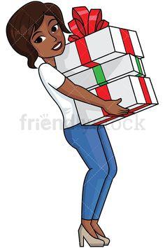 Black woman inside shopping. Cashier clipart sale lady