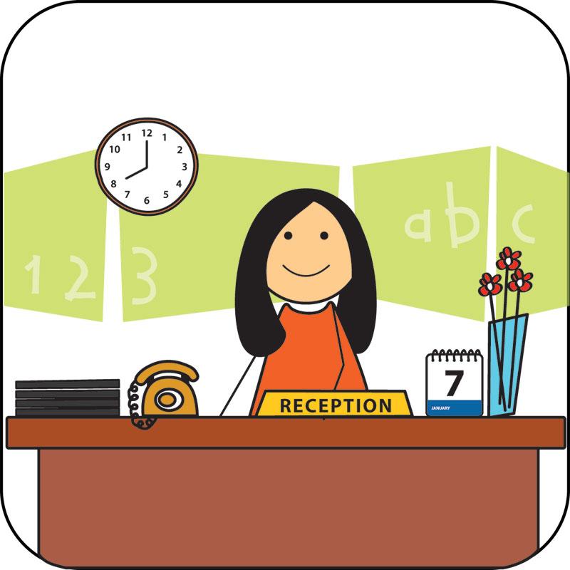 Cashier clipart school cashier. Clip art modern d