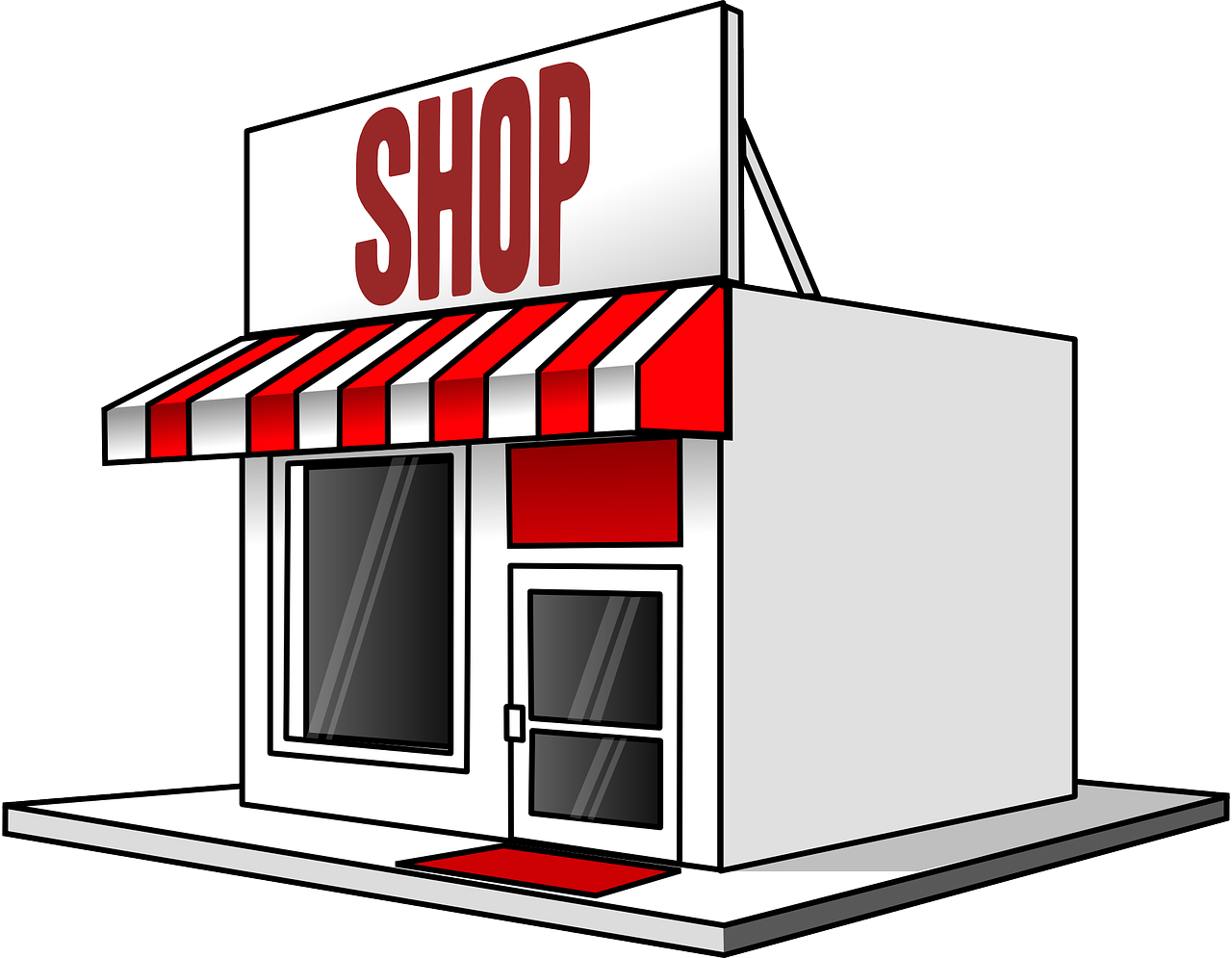 Retail clipground clip art. Employee clipart shop owner