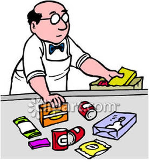 Cashier clipart shop keeper. Halcyon days how many