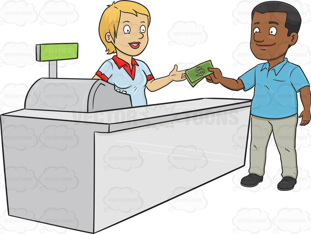 Cashier clipart shop keeper.  collection of pay