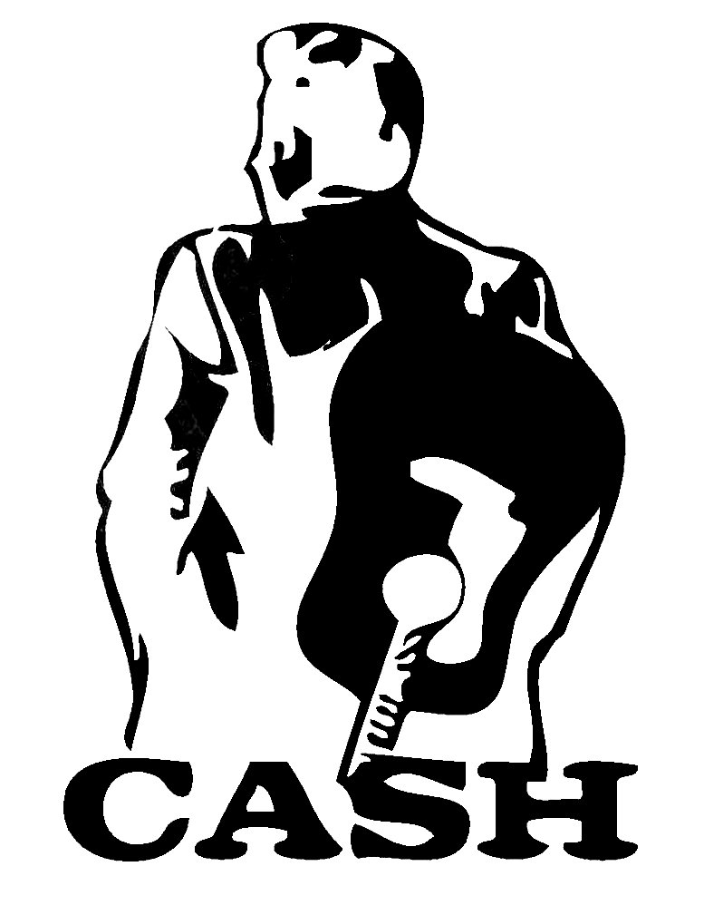 Cashier clipart silhouette. Cash drawing at getdrawings