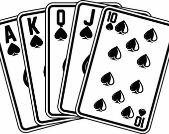 Of aces spade playing. Casino clipart ace