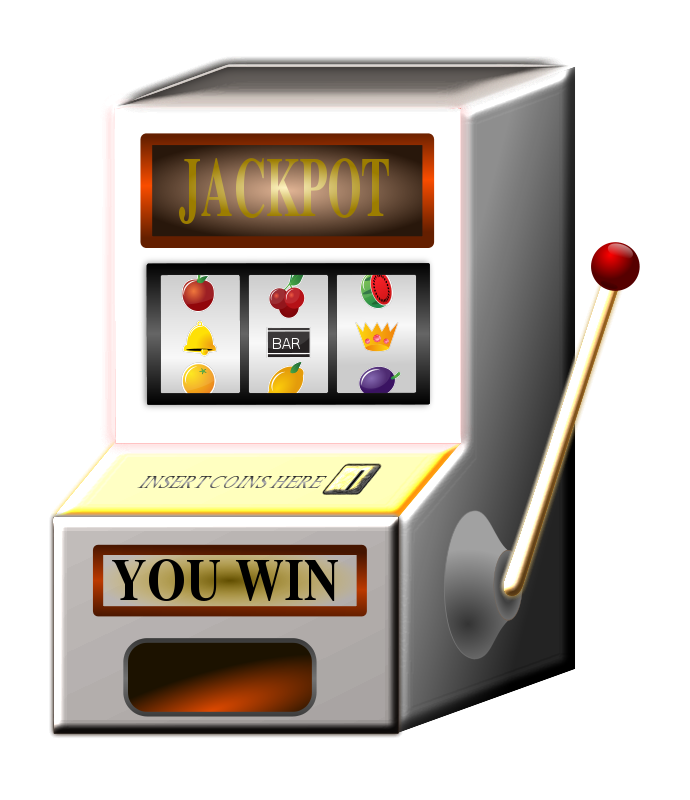 Animated slot machine . Electronics clipart electronic product