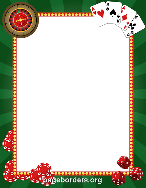 Casino clipart border. Printable use the in