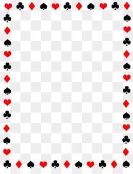 Casino clipart border. Poker playing card game