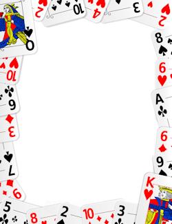 Casino clipart border. Free miscellaneous borders clip