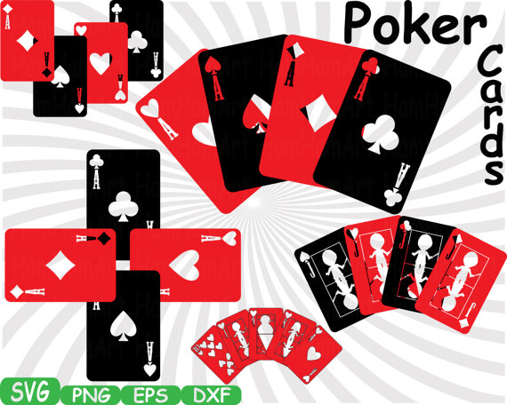 Poker playing clip art. Cards clipart casino card