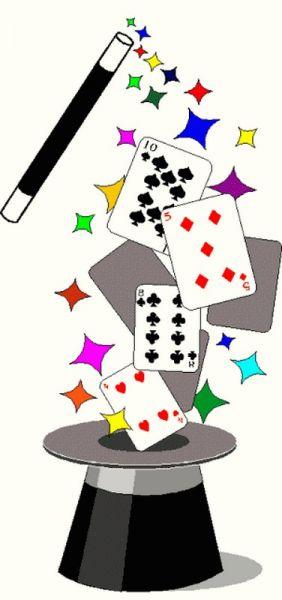 Index of wp content. Casino clipart card magic