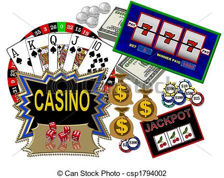 Free . Casino clipart cartoon