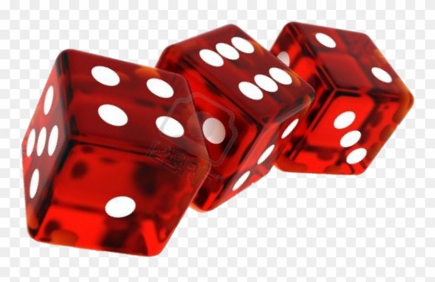 Transparent red sided png. Casino clipart casino dice