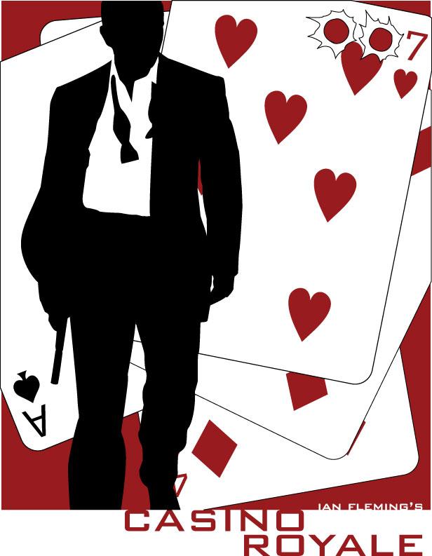 Book cover by brandonmicheals. Casino clipart casino royale