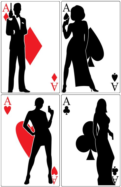 James bond party decor. Casino clipart casino royale