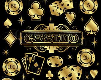 Clip art etsy . Casino clipart casino sign