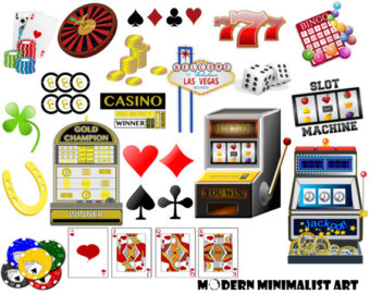 Handmade roulette clip art. Casino clipart deck card