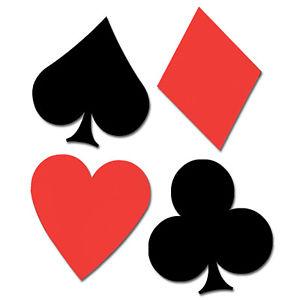 pc cardboard cutout. Casino clipart deck card