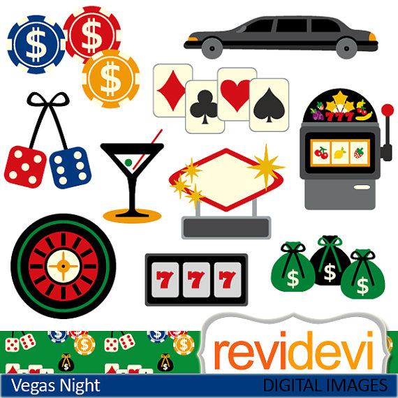 Las sale commercial use. Casino clipart dice vegas