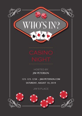 casino clipart invitation template free casino invitation. Black Bedroom Furniture Sets. Home Design Ideas