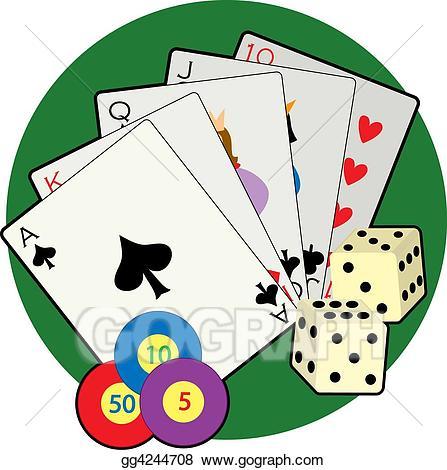 Casino clipart line art. Stock illustration drawing gg