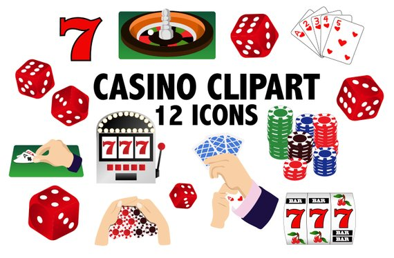 Casino clipart line art. Card games and printable