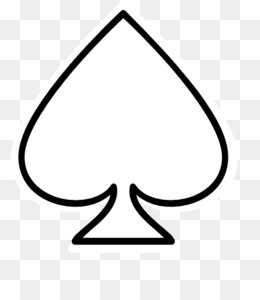 Casino clipart line spades ace. Card png and psd
