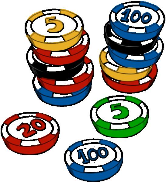 Holidays clipart casino. Chips clip art at
