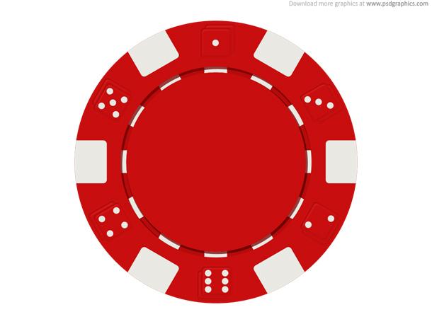 Casino chips . Chip clipart poker
