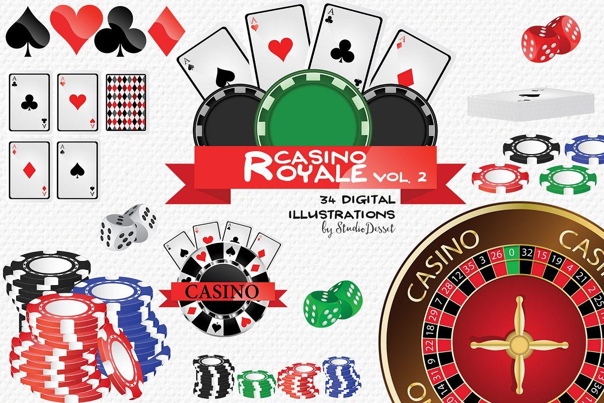 Royale vegas cliparts . Casino clipart poker run