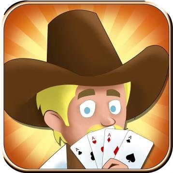 Texas holdem western lucky. Casino clipart poker run