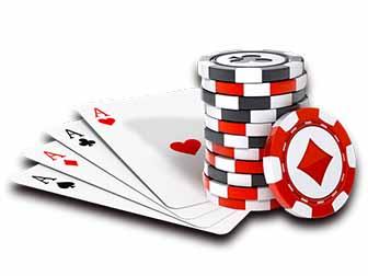 casino clipart poker run