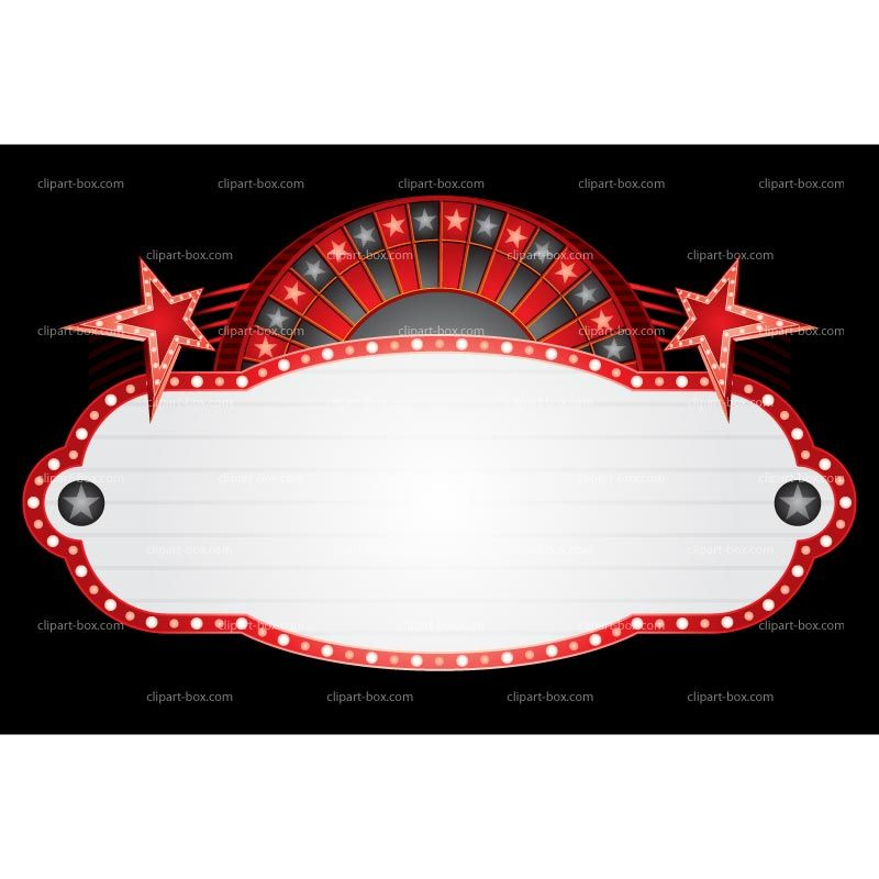 Neon banner royalty free. Casino clipart printable