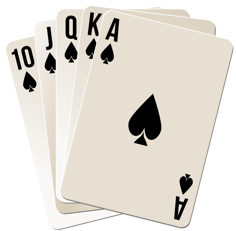 Diamond clipart royal flush. Free photo queen poker