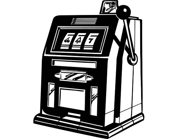 Casino clipart slot machine. Slots gambling las vegas