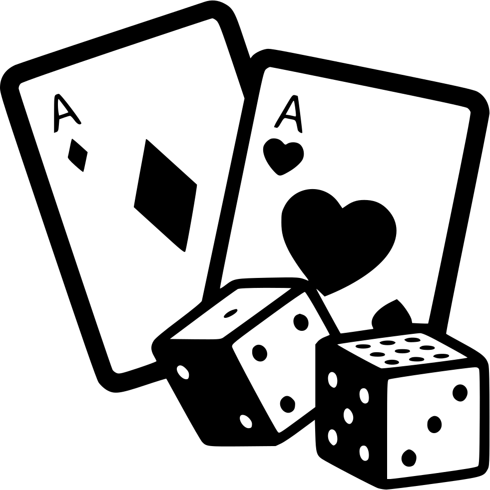 Game gambling cards svg. Dice clipart casino dice