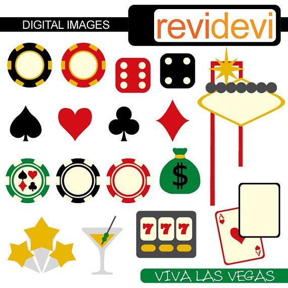 Las vegas clip art. Casino clipart symbol