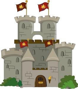 Clip art . Clipart castle