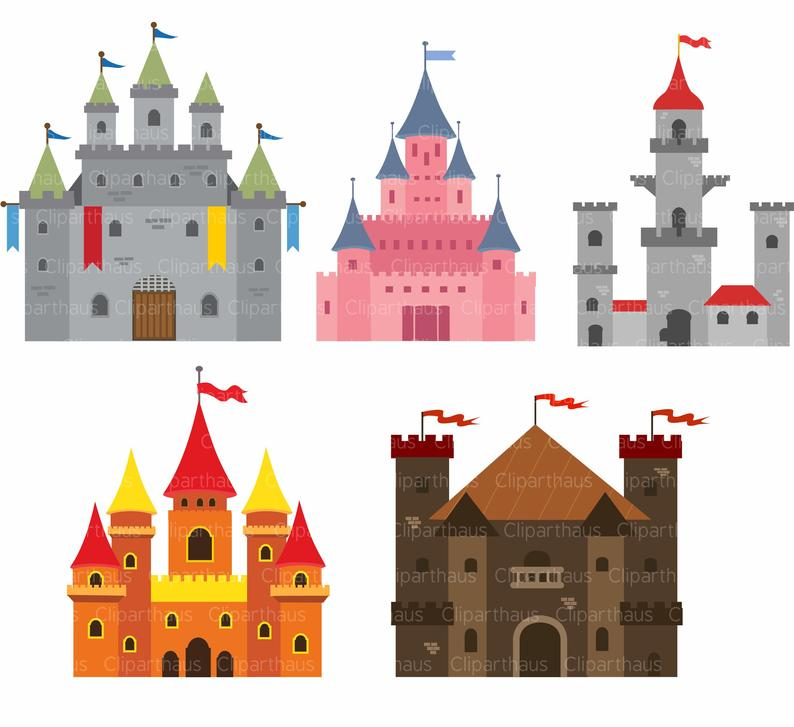 Castle clipart. Clip art svg princess