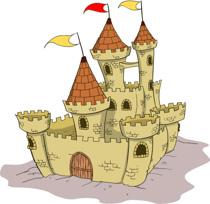Free castles clip art. Clipart castle