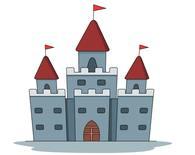 Clipart castle. Free castles clip art