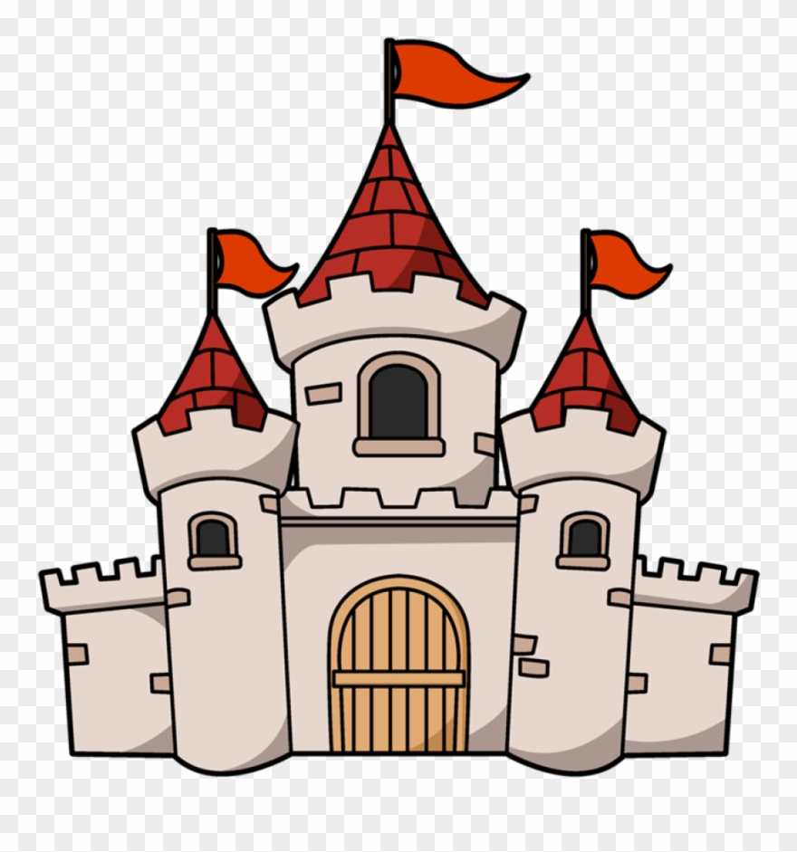 clipart castle animated