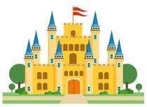Clipart castle basic. Free castles clip art