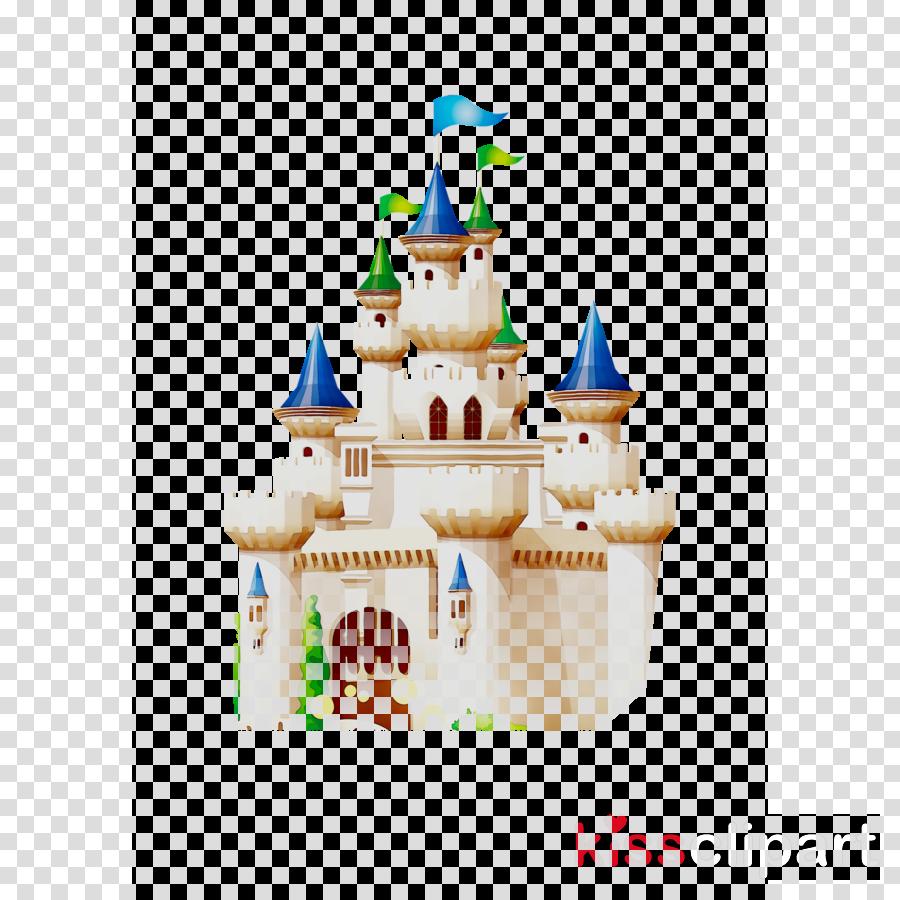 Cartoon illustration . Castle clipart animated