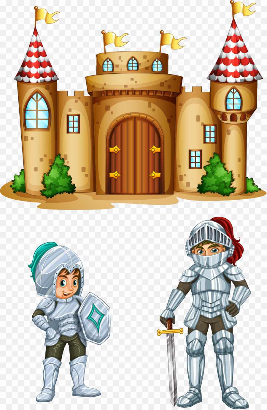 Cartoon png download . Castle clipart animated