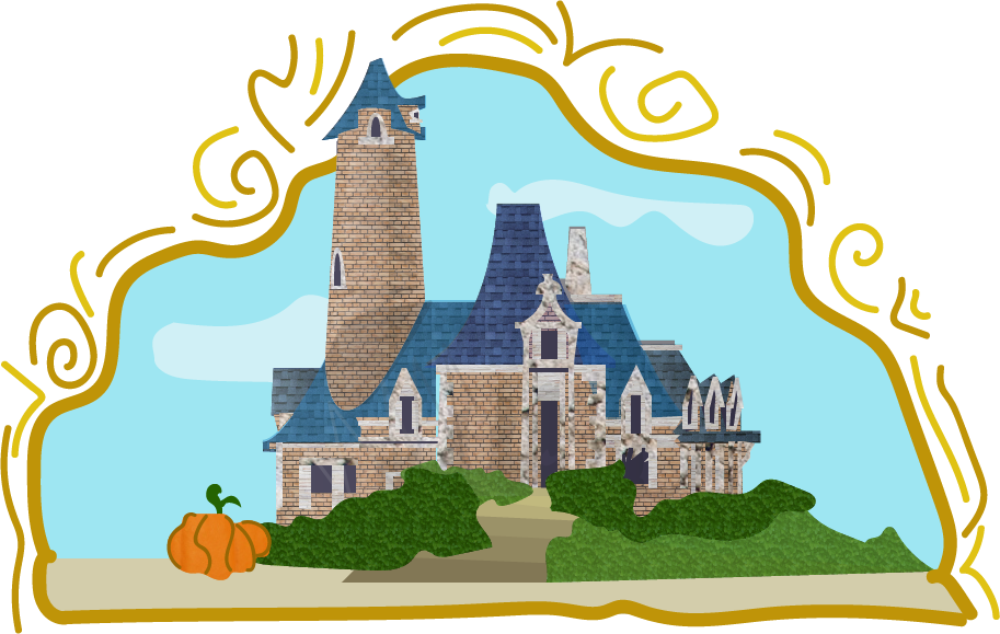 Stanza iv program guide. Fairytale clipart castle courtyard
