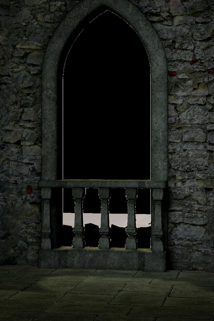 Clipart castle balcony. Cartoon window building