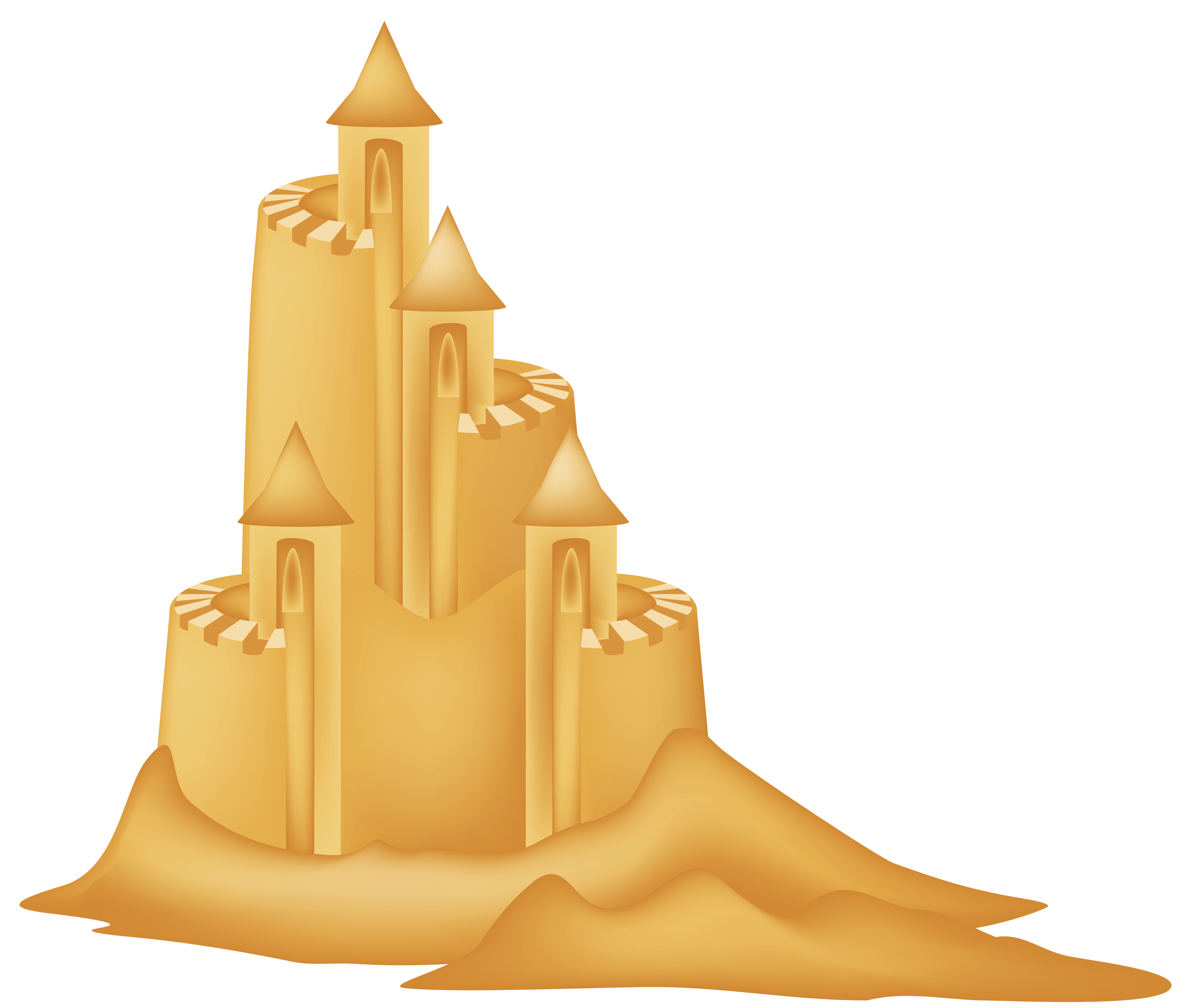 Sand png picture gallery. Clipart castle borders
