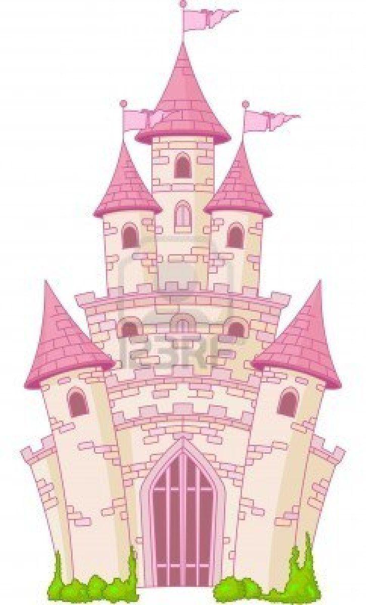 Bedroom clipart castle. Illustration of a magic