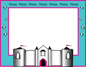 Border . Castle clipart borders