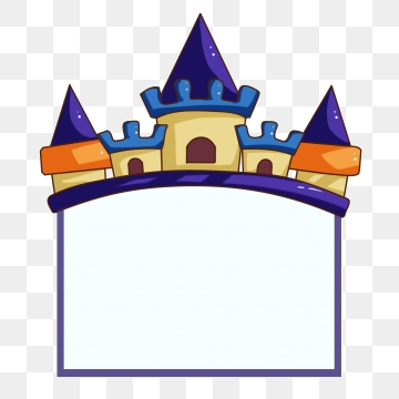 Png vector psd and. Palace clipart castle border